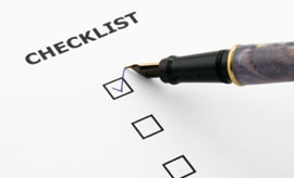 Counterfeit electronic component mitigation checklist